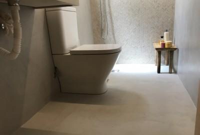 Cuarto de baño microcemento